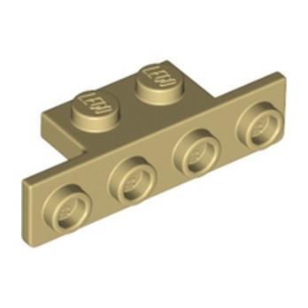 LEGO 6318084 ANGLE PLATE 1X2/1X4 - TAN