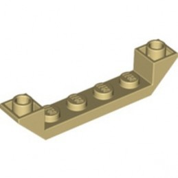 LEGO 6312481 INVERTED ROOF TILE 6X1X1 - TAN