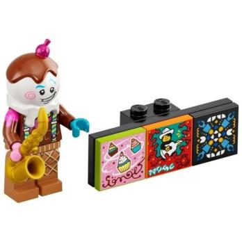 Minifigure Lego® Bandmates Series - Saxophonist Ice Cream