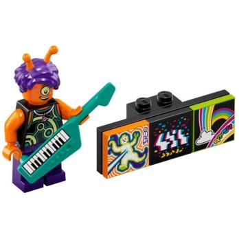 Minifigure Lego® Bandmates Series - Alien Keytarist