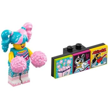 Minifigure Lego® Bandmates Series - Cotton Candy Cheerleader