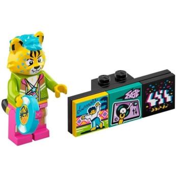 Minifigure Lego® Bandmates Series - DJ Cheetah