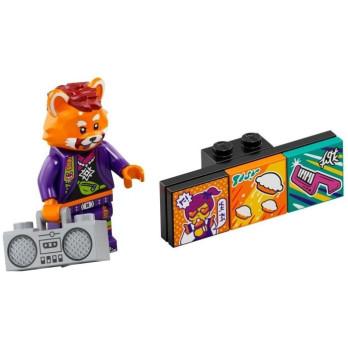 Minifigure Lego® Bandmates Series - Red Panda Dancer