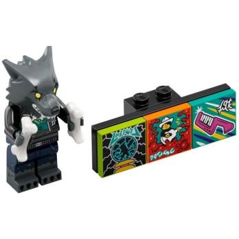 Minifigure Lego® Bandmates Series - Werewolf Drummer
