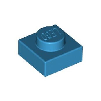 LEGO 6151664 PLATE 1X1 - DARK AZUR