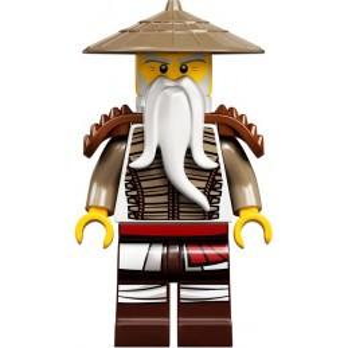 Minifigure LEGO® : Ninjago - Sensei Wu Legacy