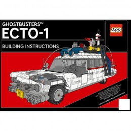 Instruction Lego Creator GhostBusters ECTO-1 10274