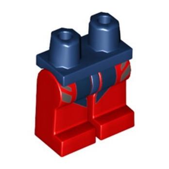 LEGO 6307439 PRINTED LEGS - EARTH BLUE