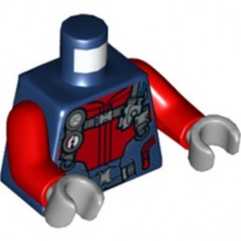 LEGO 6308426 DIVER TORSO - EARTH BLUE
