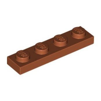 LEGO 6074892 PLATE 1X4 - DARK ORANGE