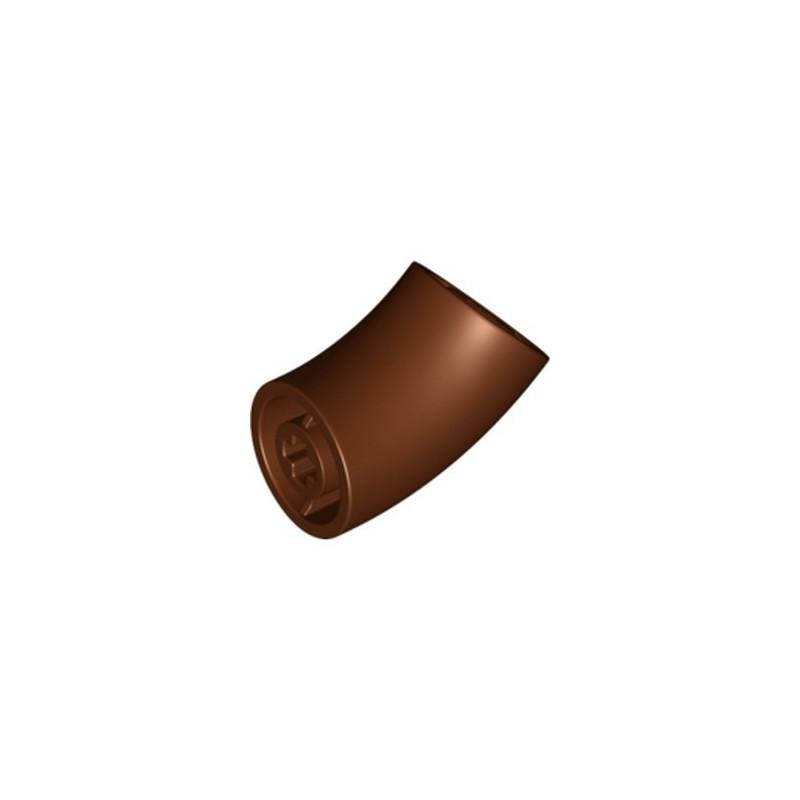 LEGO 6327811 DESIGN ELEMENT,DEG.135,W/ CROSSHOLE - REDDISH BROWN