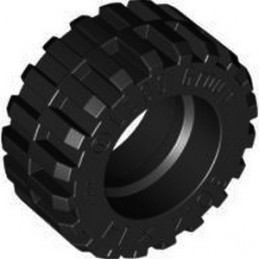 LEGO 4619323 TIRES Ø30,4 X 14 - BLACK