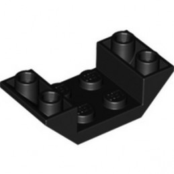 LEGO 4188534 ROOF TILE 2X4 INV. - BLACK
