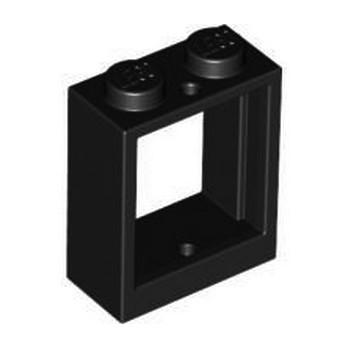 LEGO 4521439 WINDOW 1X2X2 - BLACK