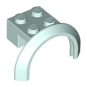 LEGO 6195505 BRICK 2X4X1 W. SCREEN - AQUA