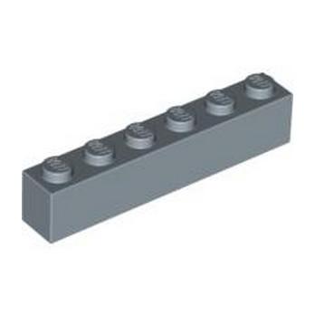 LEGO 4620992 BRICK 1X6 - SAND BLUE