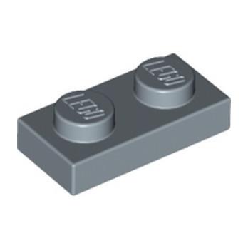 LEGO 6198156 PLATE 1X2 - SAND BLUE