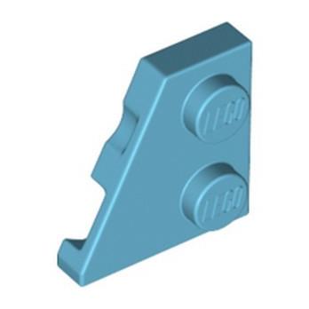 LEGO 6296842 LEFT PLATE 2X2, 27 DEG. - MEDIUM AZUR