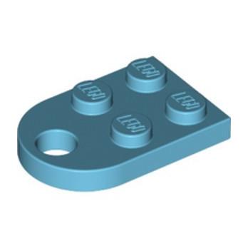 LEGO 6174592 COUPLING PLATE 2X2  - MEDIUM AZUR