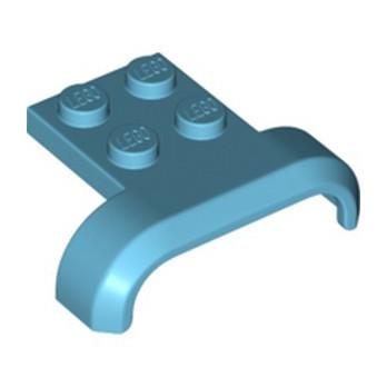 LEGO 6296909 MUDGUARD 3X4, W/ PLATE - MEDIUM AZUR