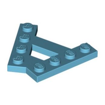 LEGO 6124250 PLATE (A) 4M 45° - MEDIUM AZUR