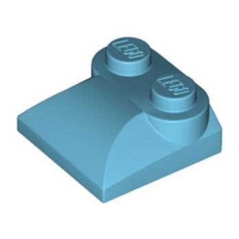 LEGO 6071247 PLATES W. BOWS 2X2 -  MEDIUM AZUR