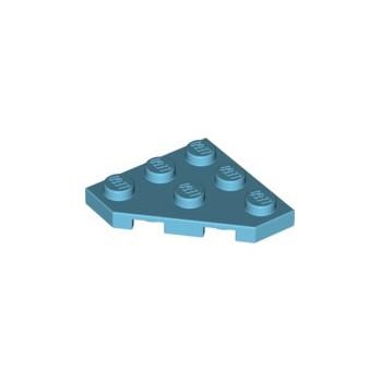 LEGO 6112750 CORNER PLATE 45 DEG. 3X3 - MEDIUM AZUR