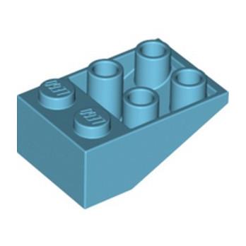 LEGO 6223481 ROOF TILE 2X3/25° INV. - MEDIUM AZUR