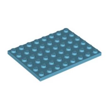 LEGO 6097036 PLATE 6X8 - MEDIUM AZUR