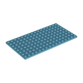 LEGO 6022010 PLATE 8X16 - MEDIUM AZUR