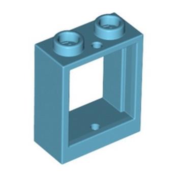 LEGO 6287425 FRAME 1X2X2 - MEDIUM AZUR
