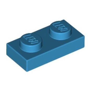 LEGO 4653988 PLATE 1X2 - DARK AZUR