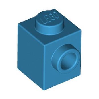 LEGO 6004938 BRICK 1X1 W. 1 KNOB - DARK AZUR