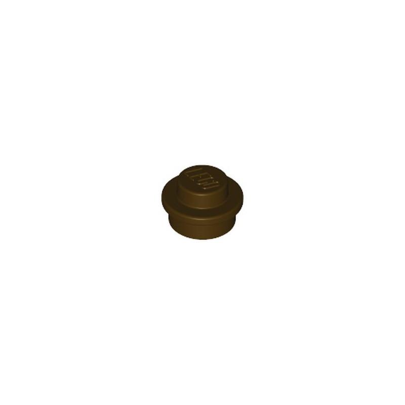 LEGO 6315780 ROUND 1X1 - DARK BROWN