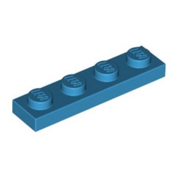 LEGO 6133728 PLATE 1X4 - DARK AZUR