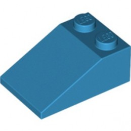 LEGO 6021566 ROOF TILE 2X3/25° - DARK AZUR