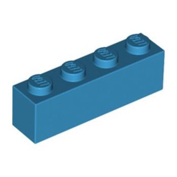 LEGO 6213272 BRICK 1X4 - DARK AZUR