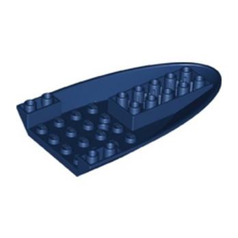LEGO 6221673 FUSELAGE D'AVION COURBE AVANT 6X10 - EARTH BLUE