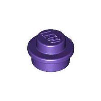 LEGO 4566522 PLATE 1X1 ROUND - MEDIUM LILAC