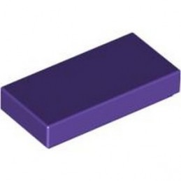 LEGO 4613192 FLAT TILE 1X2 - MEDIUM LILAC