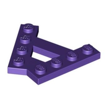 LEGO 6147010 - PLATE (A) 4M 45° - MEDIUM LILAC