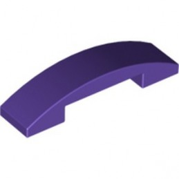 LEGO 6069012 PLATE W. BOW 1X4X2/3 - MEDIUM LILAC