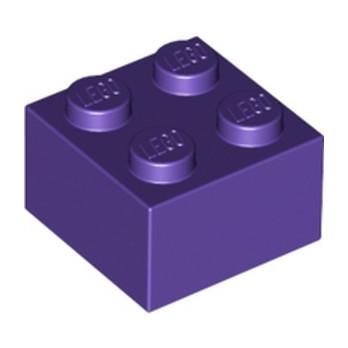 LEGO 4653960 BRICK 2X2 - MEDIUM LILAC