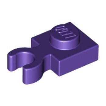 LEGO 6176821 PLATE 1X1 W. HOLDER - MEDIUM LILAC