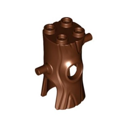 LEGO 6207142 MINI COSTUME, W/ KNOBS, 3.2 SHAFT - REDDISH BROWN