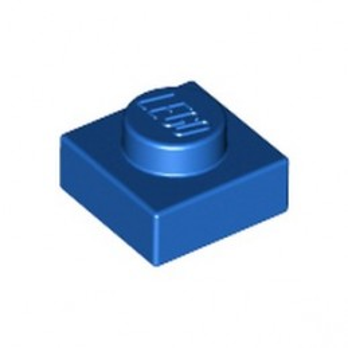 LEGO 302423 PLATE 1X1 - BLUE