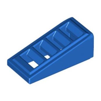 LEGO 4597338 ROOF TILE W. LATTICE 1x2x2/3 - BLUE