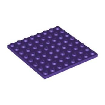 LEGO 6222990 PLATE 8X8 - MEDIUM LILAC