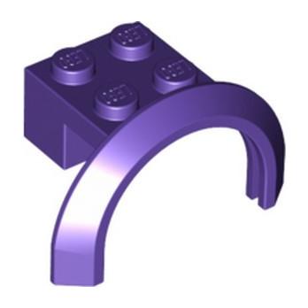 LEGO 6167458 BRICK 2X4X1 W. SCREEN - MEDIUM LILAC