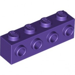 LEGO 6167459 BRICK1X4 W. 4 KNOBS - MEDIUM LILAC